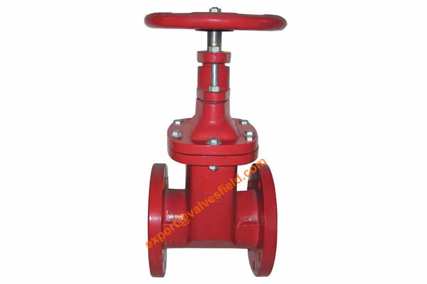 ANSI Resilient Seated Non Rising Stem Gate Valve